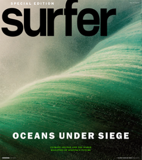 Surfer (Mag) takes a stand